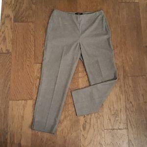 Talbots petites grey trousers NWOT